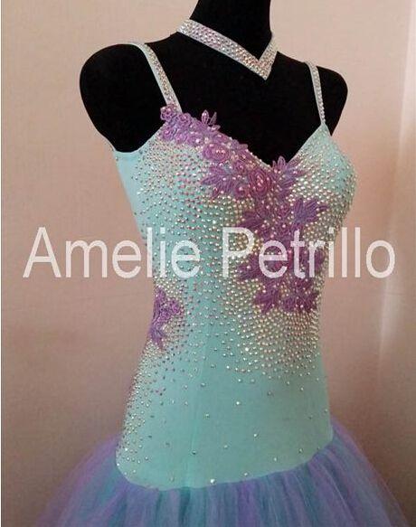 Женщины современный танец юбка танцевальный зал танцы платье девочки вальс танец юбка производительность платье танго платье