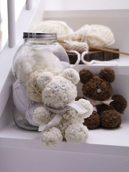 Simple diy teddy bear
