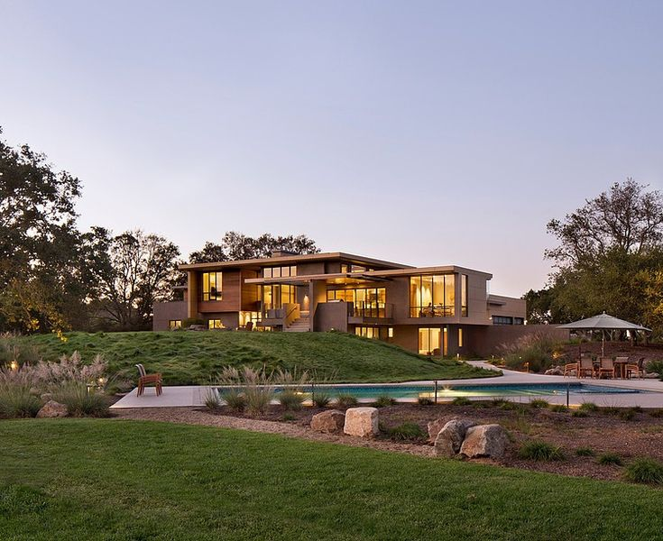 High Quality Portola Valley Residence By Tobin Dougherty In USA Idea