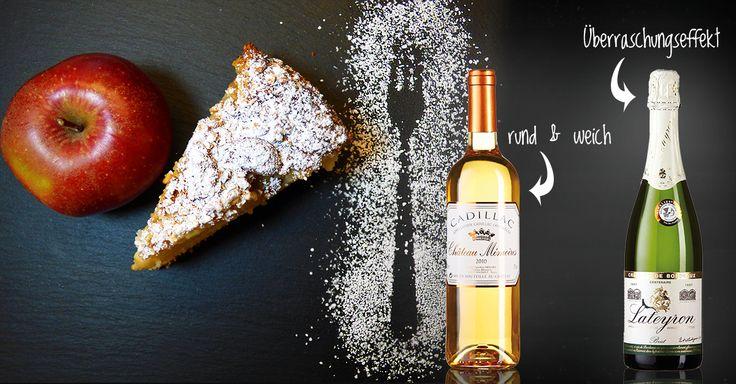 Apfeltarte I Bordeaux Wein #Apfel #Rezept #Tarte #Bordeaux #Wein #Foodpairing #Genuss #Herbst #Herbstrezepte