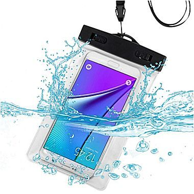 Insten Waterproof Pouch Bag Dry Armband Case Samsung Galaxy Note 5 S6 LG Nexus 5 HTC One M9 iPhone 6s 5 Moto G,Clear (2166942)