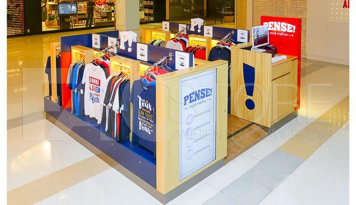 Quiosques para Shopping Pense