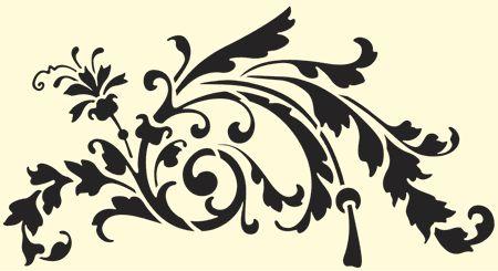 •  FABRYKA FANTAZJI •  Twoje szablony malarskie •  - Szablon malarski: Ornamenty inne 11