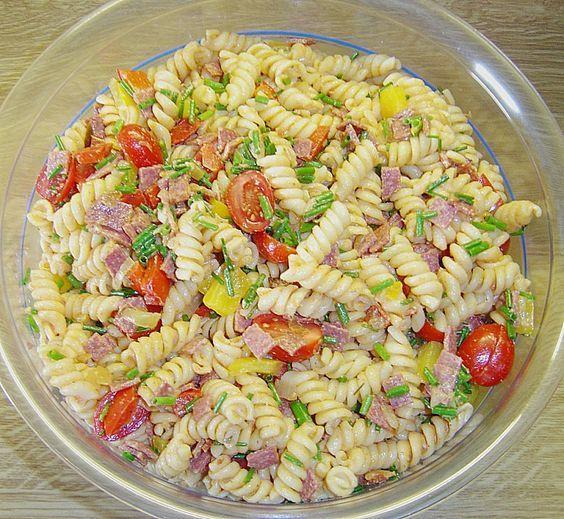 Nudelsalat mit Brunch Paprika - Peperoni Mehr