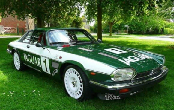 6/19/2010 Update: This Jaguar did not meet reserve at GBP19,600 with 3 bidders. From 6/15/2010: This 1988 Jaguar XJS V12 has been purpose built from a bare shell over the last two years into an impressive Tom Walkinshaw Racing replica. Only four of the real TWR race cars were built back in the