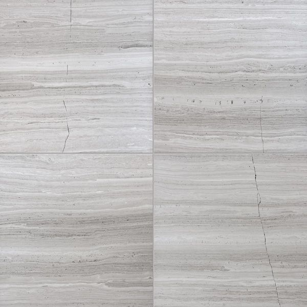 "Haisa Light Honed Marble tiles are available in three formats: 4""x12""x3/8"", 12""x12""x3/8"", and 12""x24""x3/8""."