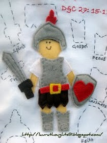 Armor of God pattern