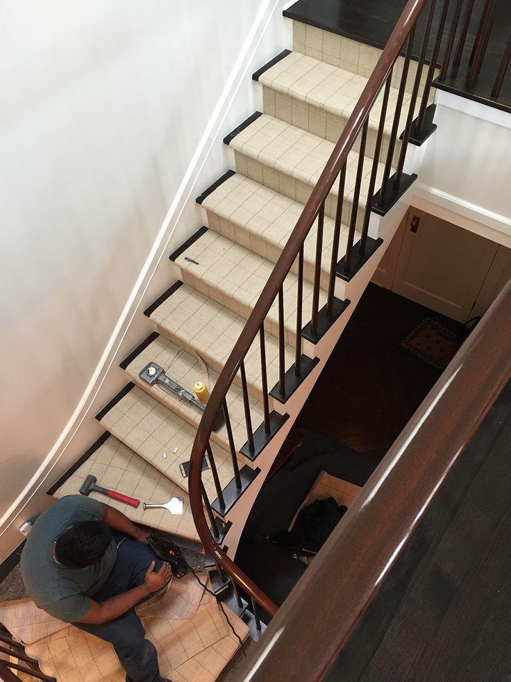 Best Custom Herringbone Stair Runner Wool Custom Runners 400 x 300