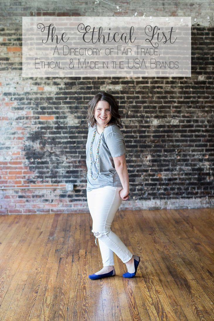 Fair Trade, Ethically Made, Made in the USA Clothing and Fashion Brand Directory