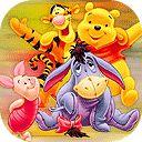 Coloriage de Winnie l'Ourson en ligne pour peindre gratuitement