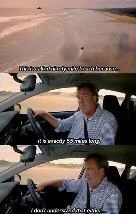 "When Jeremy had questions about a beach. | 27 Times ""Top Gear"" Was Too Damn Funny"