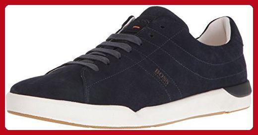 BOSS Orange by Hugo Boss Men's Stillnes Tenn Fashion Sneaker, Dark Blue, 40 EU/7-7.5 M US - Mens world (*Amazon Partner-Link)