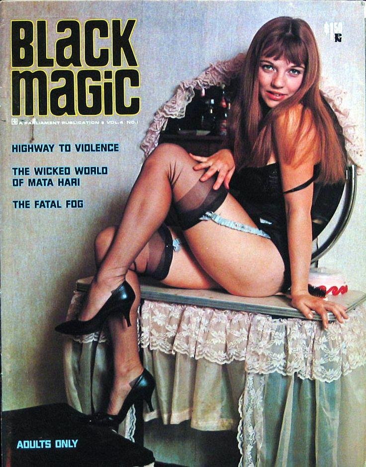 Vintage erotic magazine