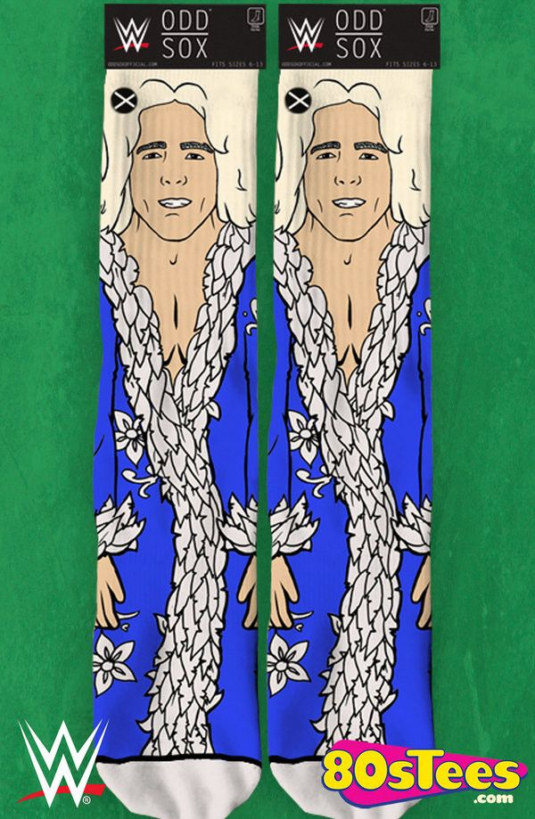 Nature Boy Ric Flair Socks: Wrestling Socks  These socks are illustrated with great design and art of Ric Flair, an entertaining celeb wrestler.