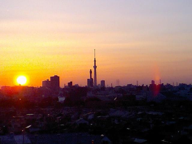 Sunset glow, Tokyo Sky Tree. May.12.2012