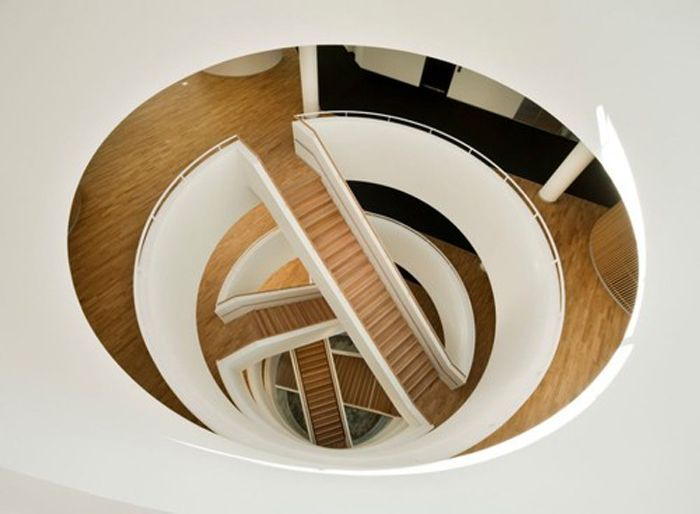 Neo-Spiral Stairs by 3XN Architects | jebiga | architecture stairs design modern