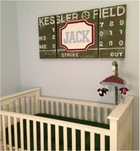 169 Best Sports Themed Nursery Images On Pinterest Boy