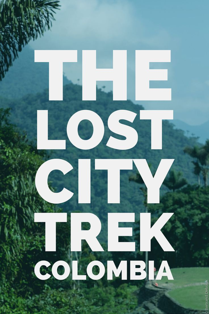 Finding the Lost City in Colombia - epic trek!
