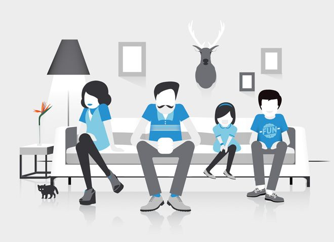 Crush | Electrolux Family - Character Illustration