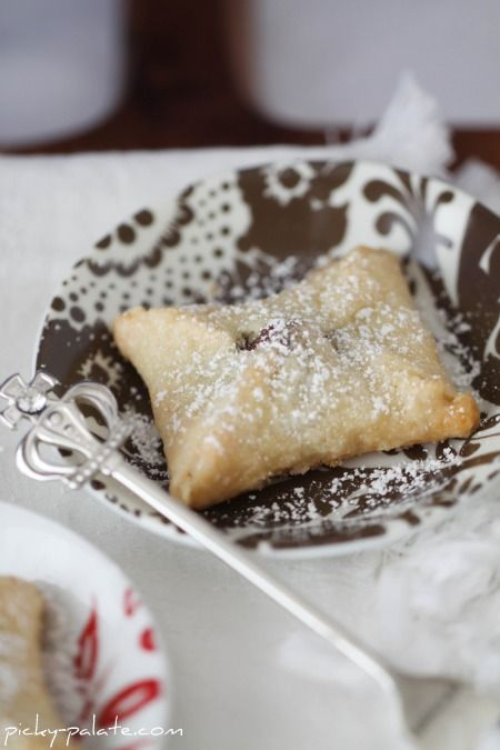 Kiss Pies- Hershey kisses, ready pie crust, egg, and powdered sugar. Simple!
