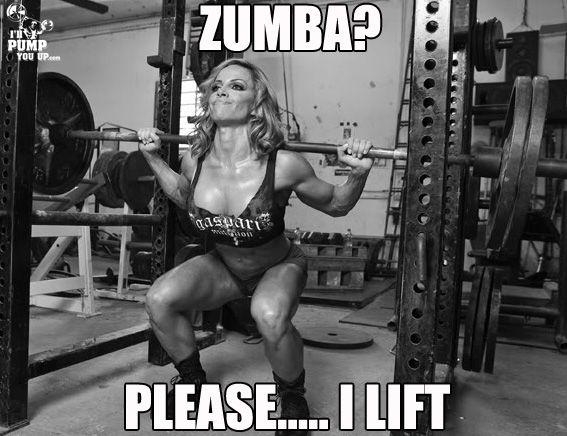 Zumba?? Please..... I lift!!!!!! @Avacowan going hard!!