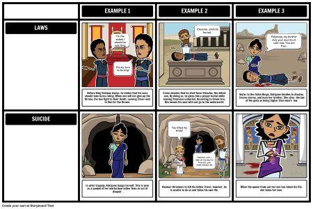 003 Antigone Themes, Symbols, and Motifs Lesson plans