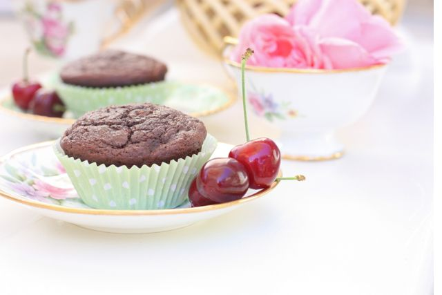 Paleo Chocolate Cherry Muffins - Against All Grain | Against All Grain - Delectable paleo recipes to eat & feel great