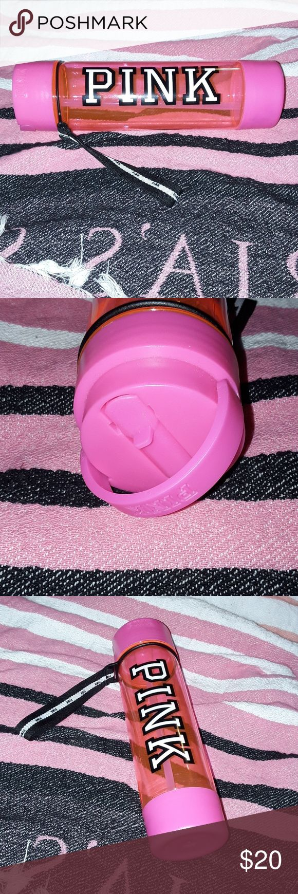 Victorias secret Pink water Bottle ❣ Brand New bright hot pink bottle from victorias secret 🎀 best offer accepted PINK Other