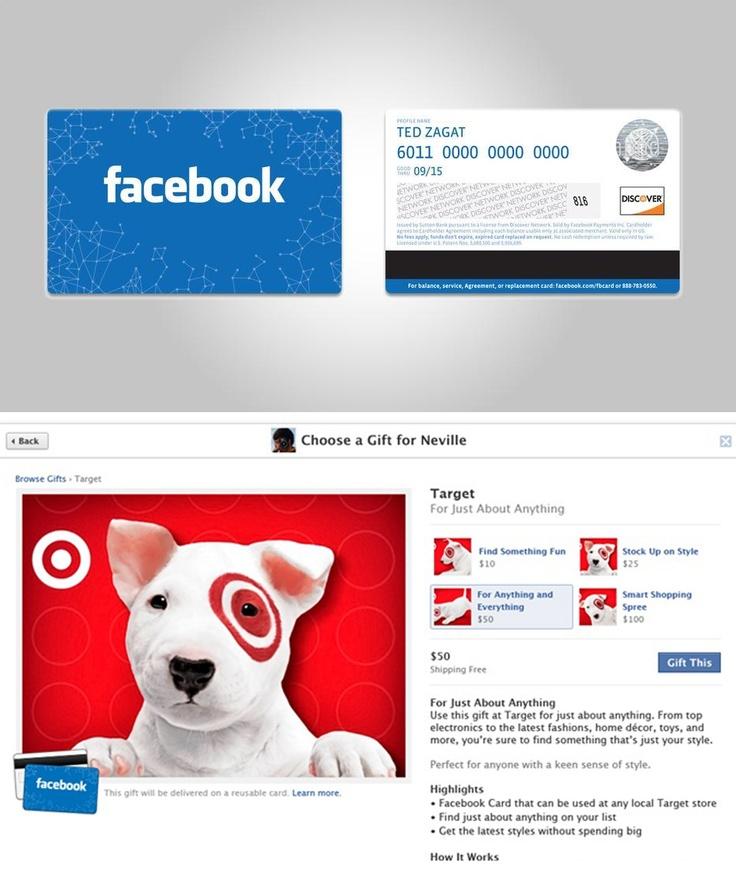 Karty prezentowe na Facebooku – czy to kolejne pole do popisu dla firm?