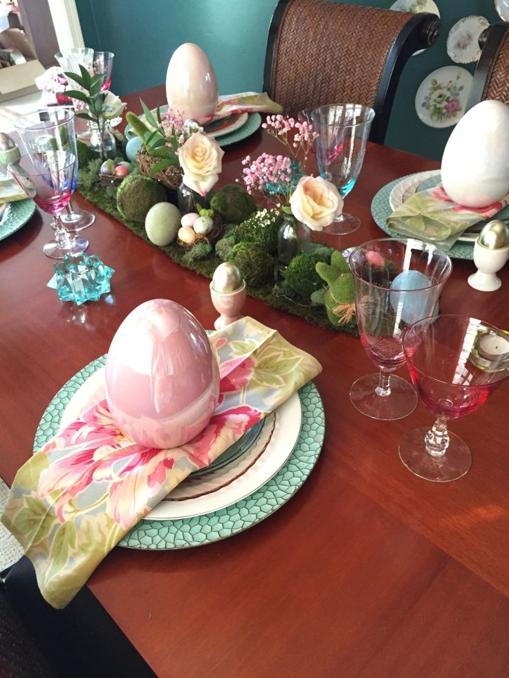 25 best Decorating For Easter images on Pinterest   Easter table ...