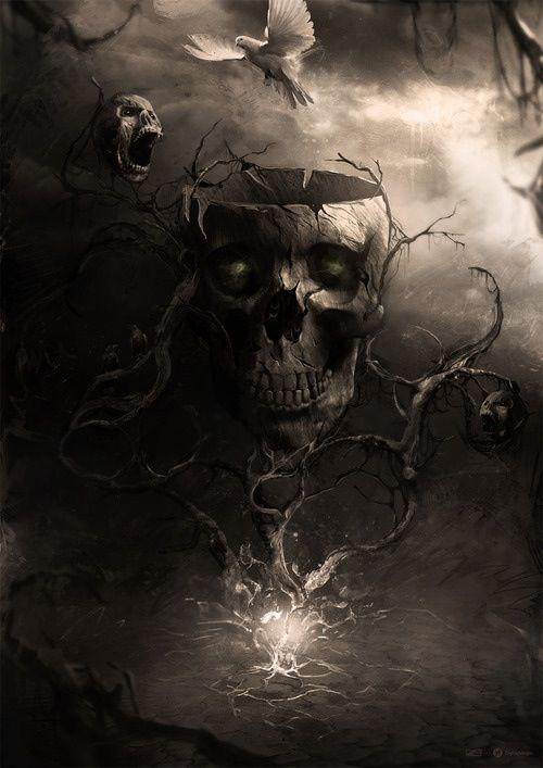 beautiful dark art