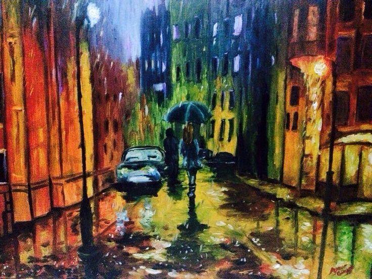 Yağmurlu bir geceden