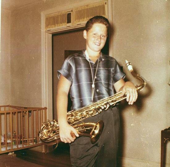 Young Bill Clinton