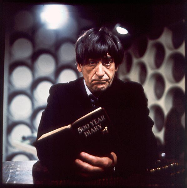 Doctor Who: exclusive behind the scenes look at The Power of the Daleks – Patrick Troughton's first episode | One of Don Smith's colour shots of Troughton. | Photographed by Don Smith
