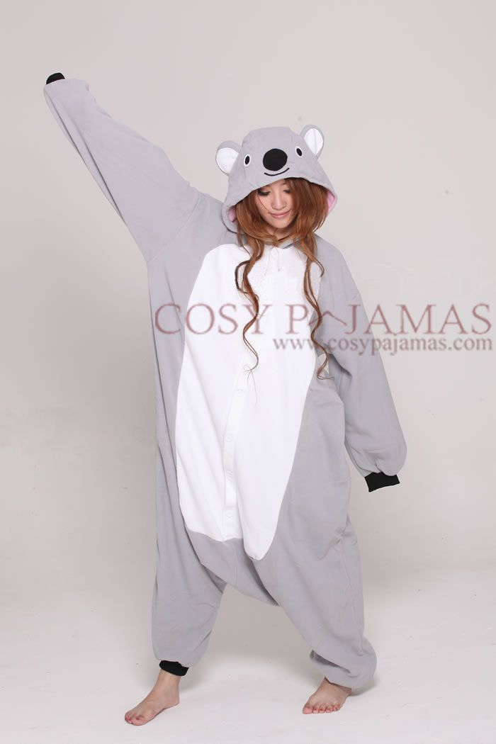 Koala Onesie Kigurumi for panda koala cuddles!