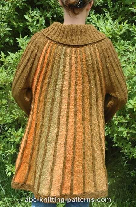 ABC Knitting Patterns - Autumn in Paris Jacket