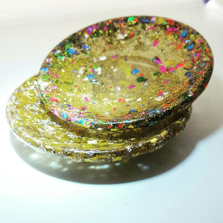 Can you imagine these cuties glittering on your vanity? Handmade and customizable! These gold ring dishes make perfect gifts for bridal showers, wedding parties or birthdays!