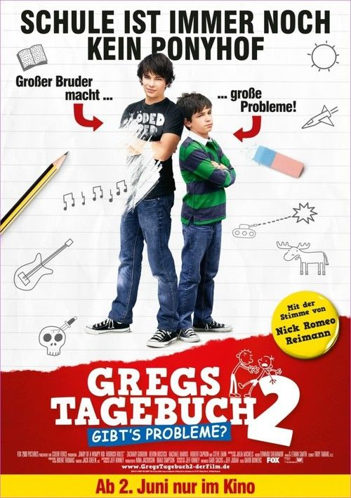 Watch Diary of a Wimpy Kid: Rodrick Rules 2011 Full Movie Online Free