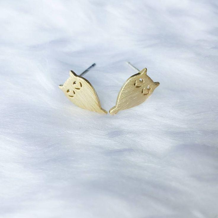 Retrouvez nos BO hibou sur Luna Pyxis. Get our owl earrings on Luna Pyxis!  #owl #fashion #earrings #lunapyxis