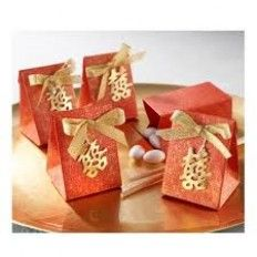 Double Happiness Favour Box