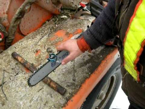 Chainsaw sharpening for beginners