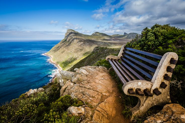 A window to the World... (Cape Point - South Africa) © Carmen Hidalgo