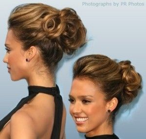 17 best images about hair styles on pinterest jessica alba updo jessica alba updo pmusecretfo Image collections
