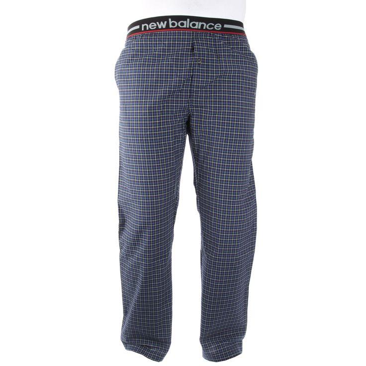 New Balance Men's Woven Sleep Pants – Navy