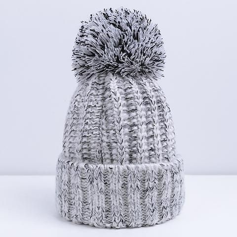 Fashion Women Winter Hat For Women Skullies Beanies Warm Knitted Hat Female  Cotton Winter Cap Brand 192a6f4c8
