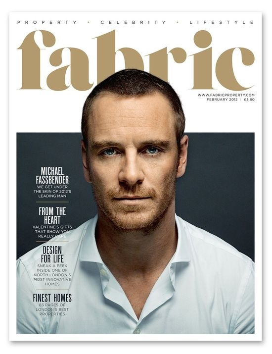 Michael Fassbender: Fabric magazine, February 2012                              …