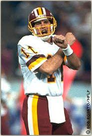 Super Bowl XXVI: Mark Rypien, QB, Washington | 18-33 292 yds 2 TD