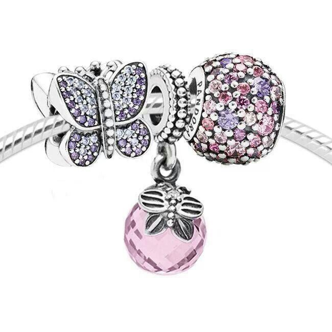 WANT, WANT, WANT. Pretty Pandora charms