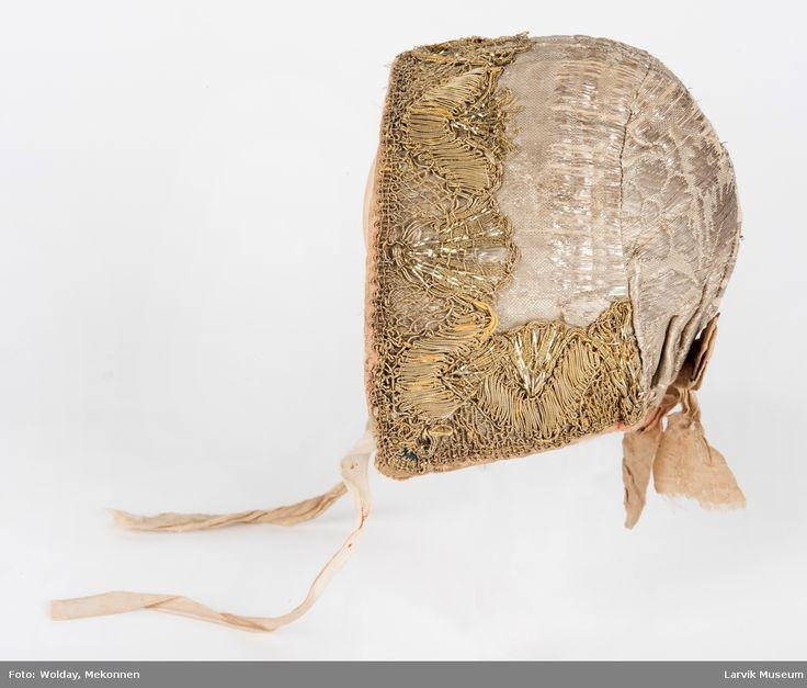 Dåpslue, christening bonnet, bonnet de baptême, infant bonnet, newborn cap