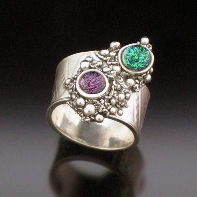 Metal Clay Guru - Get Enlightened about Everything Metal Clay - Hattie Sanderson - gallery_hattie_rings_16.jpg